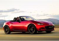 Mazda представила обновленный родстер MX-5