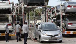 Импортных машин на 20% больше за последние полгода в России